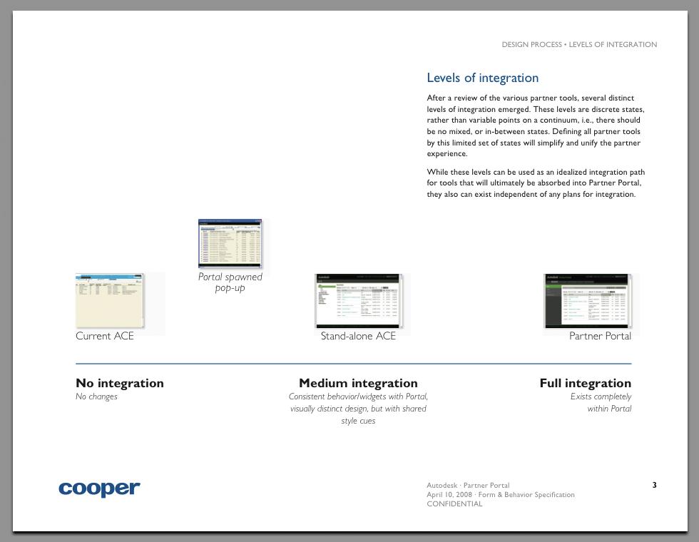 Partner web portal